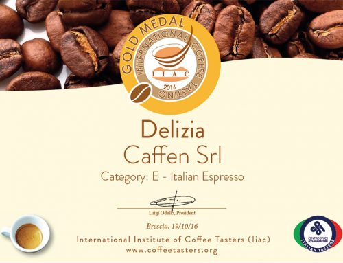 International Coffee tasting award 2016 – Miscela Delizia