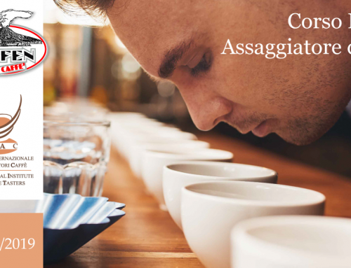 Coffee taster License Course – 2 October 2019 – ESPRESSO ITALIANO TASTING