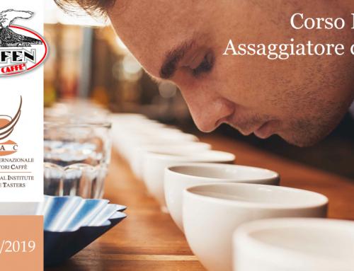 Corso Patente Assaggiatore di Caffè – 2 Ottobre 2019 – ESPRESSO ITALIANO TASTING
