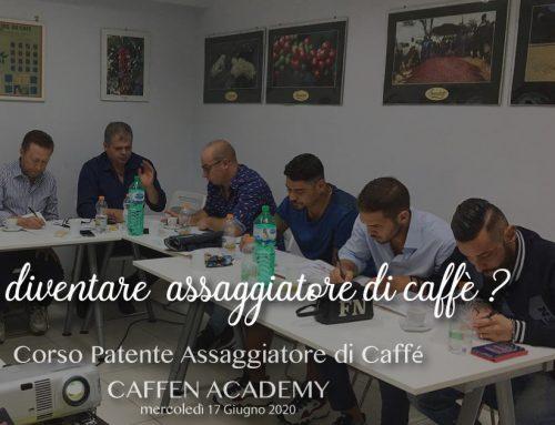 Corso Patente Assaggiatore di Caffè < CAFFEN IIAC ACADEMY > 17 GIUGNO 2020