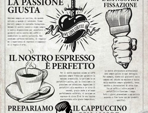 Il Manifesto del CAFFEISTA… per spiegare il grande lavoro dei baristi.