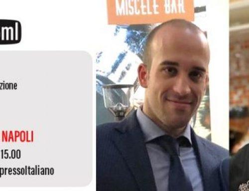 L'ESPRESSO ITALIANO A NAPOLI. Lo spiegano Stefano Bianco di Caffen e Claudio Di Costanzo di Pausa Caffè a IEI 25ml.