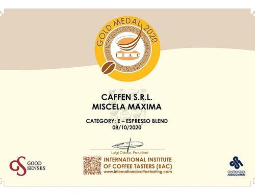 Premio International Coffee Tasting 2020 – Miscela Maxima